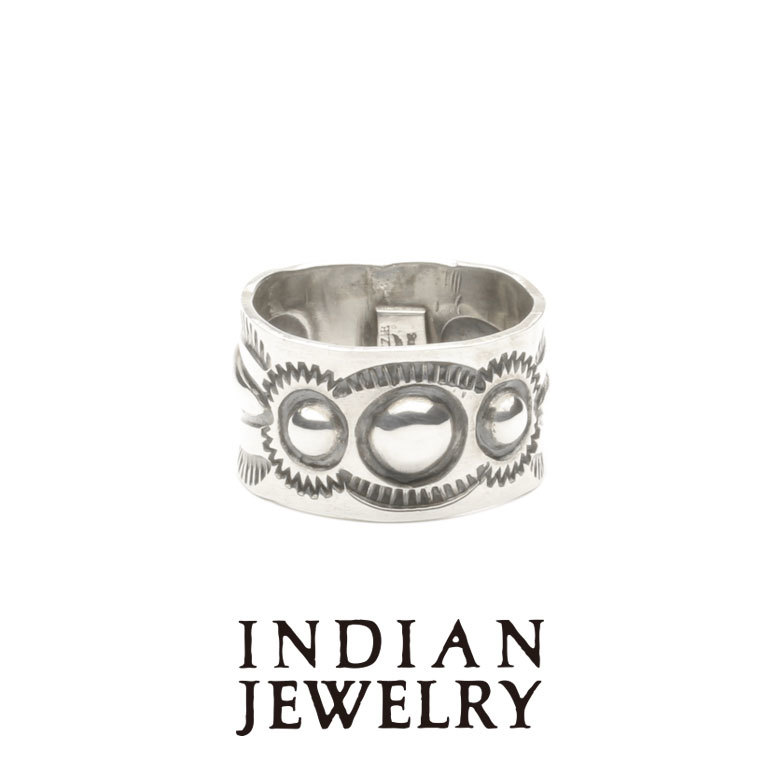 C.Yazzie Double Stamp Ring