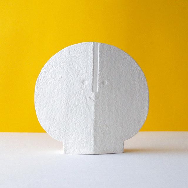 Peter Slight ceramics Medium Head  BEVELED / MH04