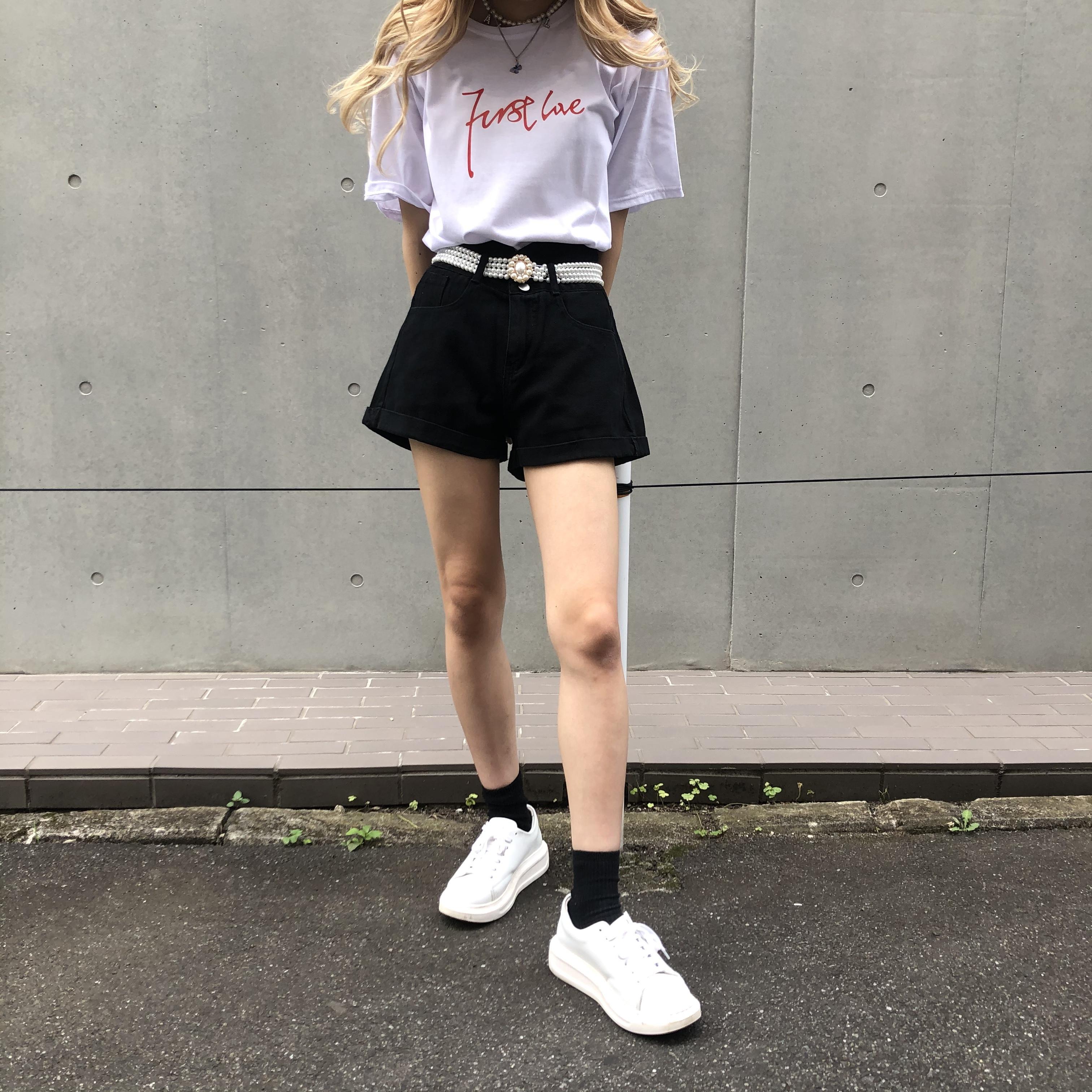 NANA * design denim short pants