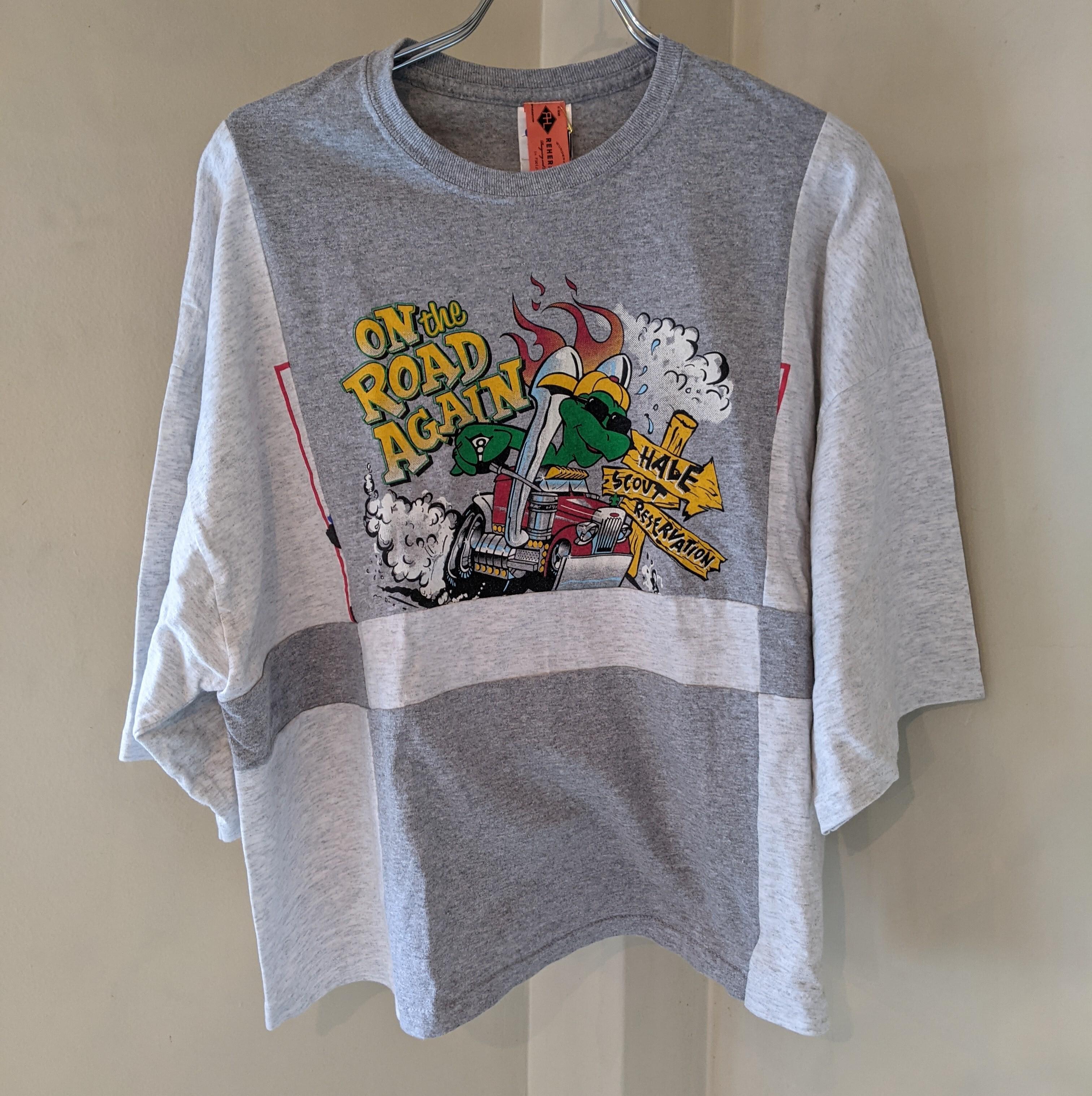 ☆Special item☆【 REHERSALL 】リハーズオール /  リメイクTシャツ