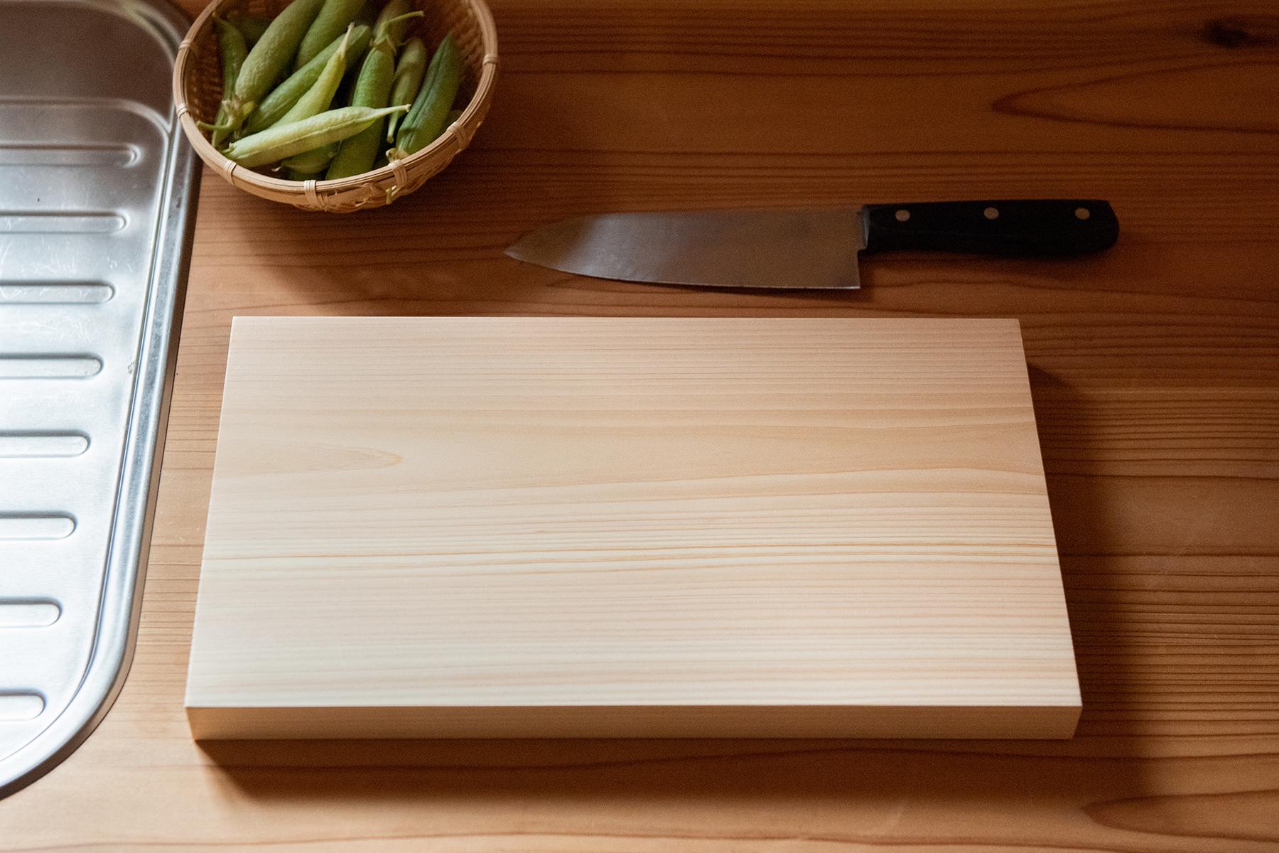 イシモク(株)石川木材 / 桧のまな板(大)