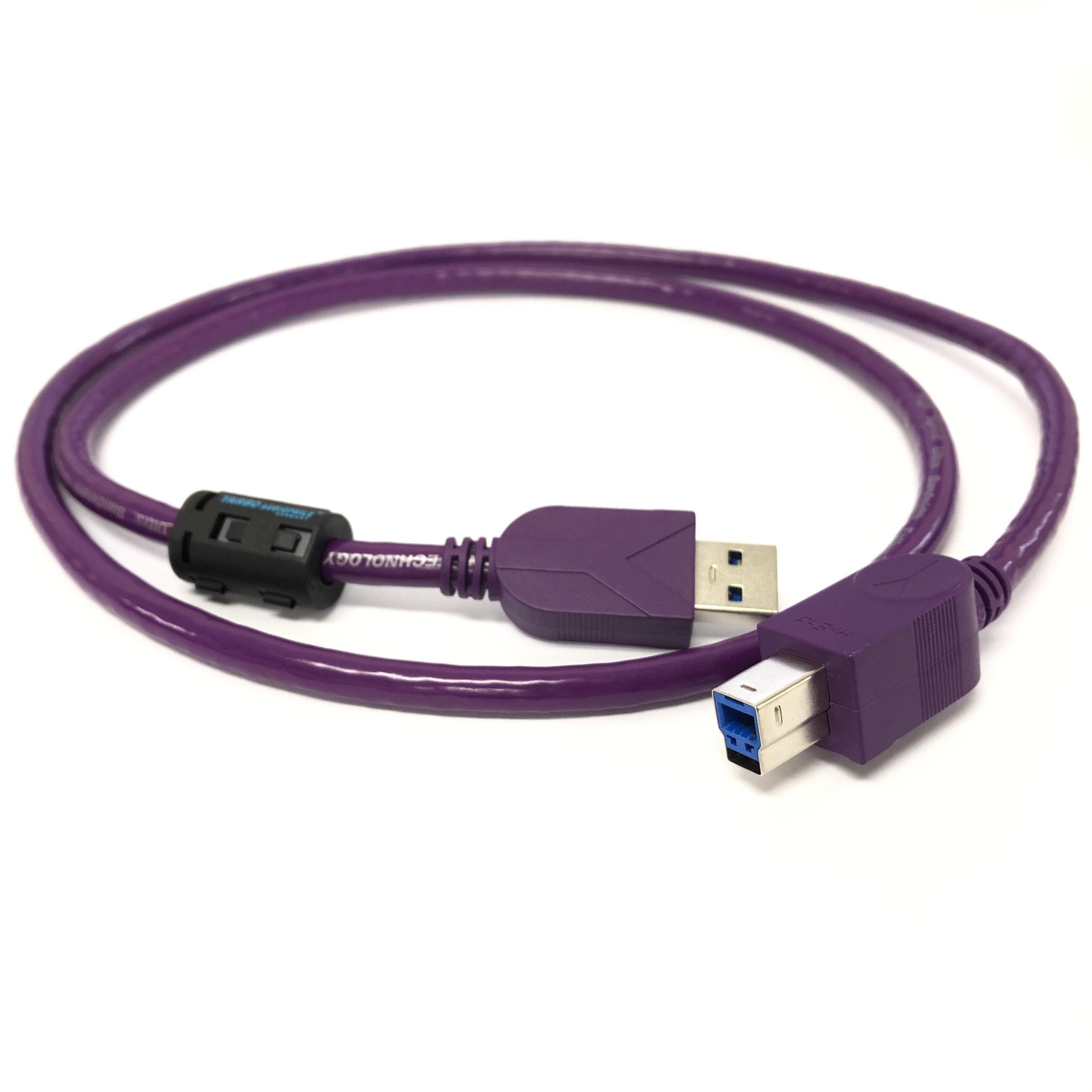 【アウトレット 数量限定】FP-USB3.0 銀メッキ銅線 USB3.0 A-Bタイプ 1m::YARBO