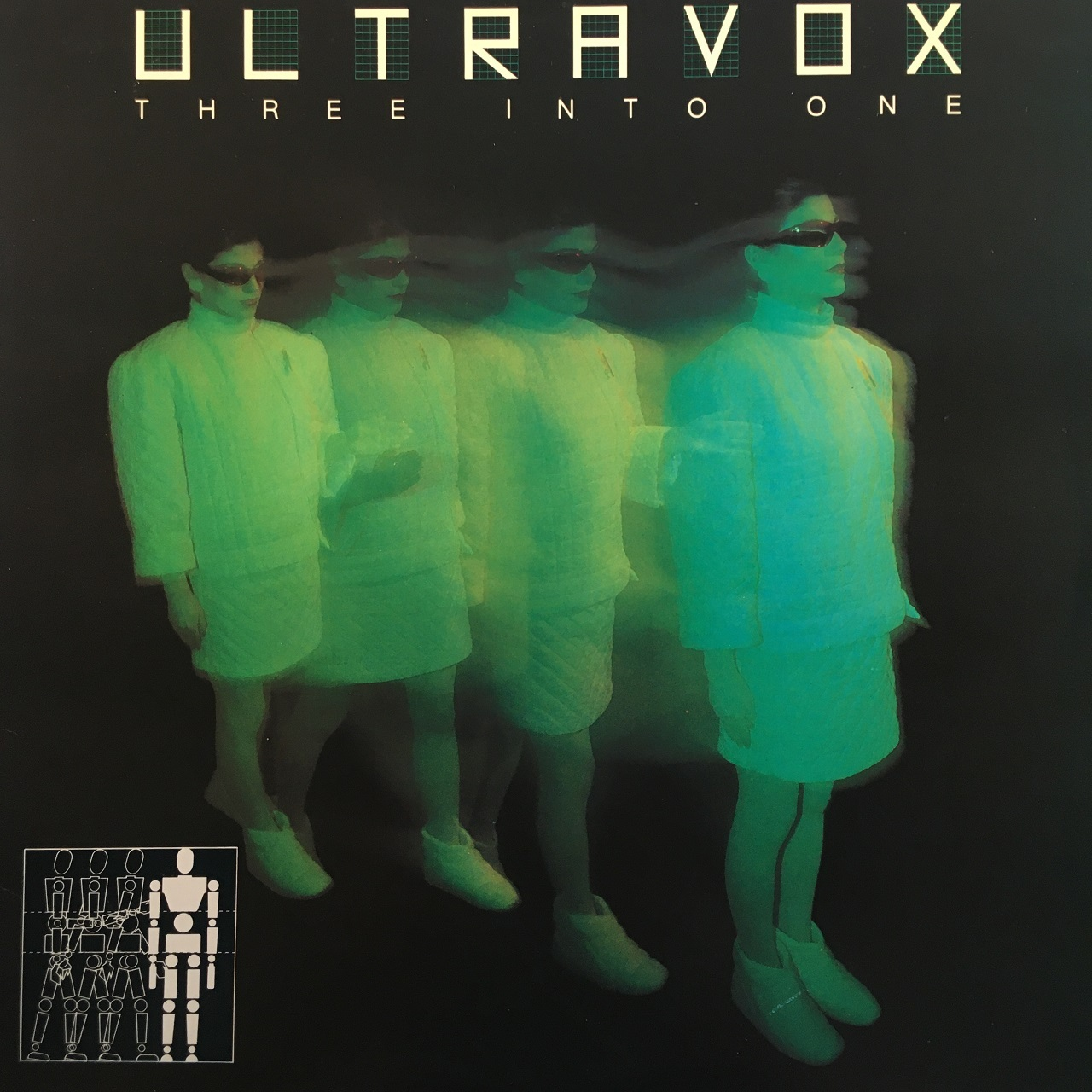 【LP・米盤】Ultravox / Three Into One