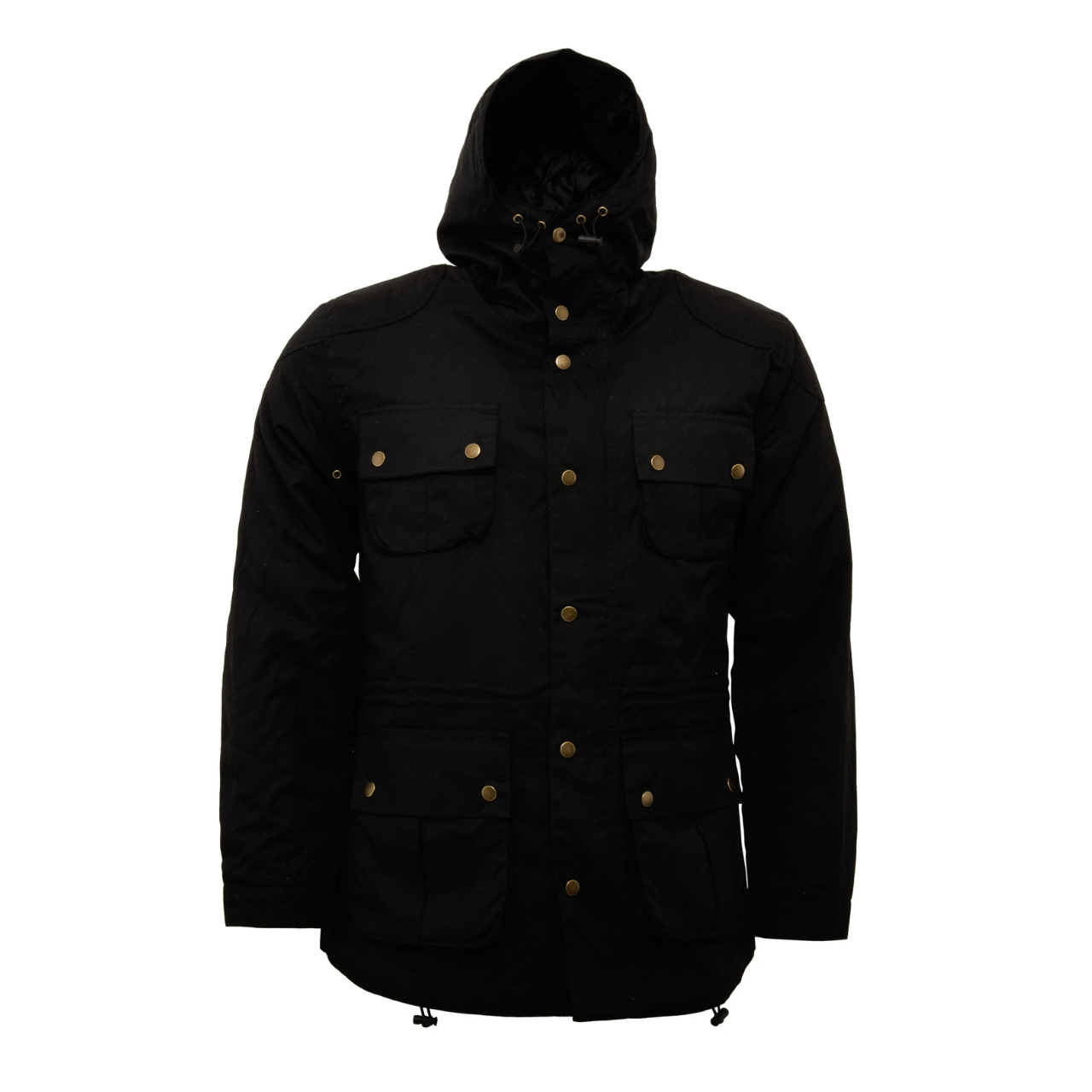 Relco London | Relco Storm Parka Jacket - Black