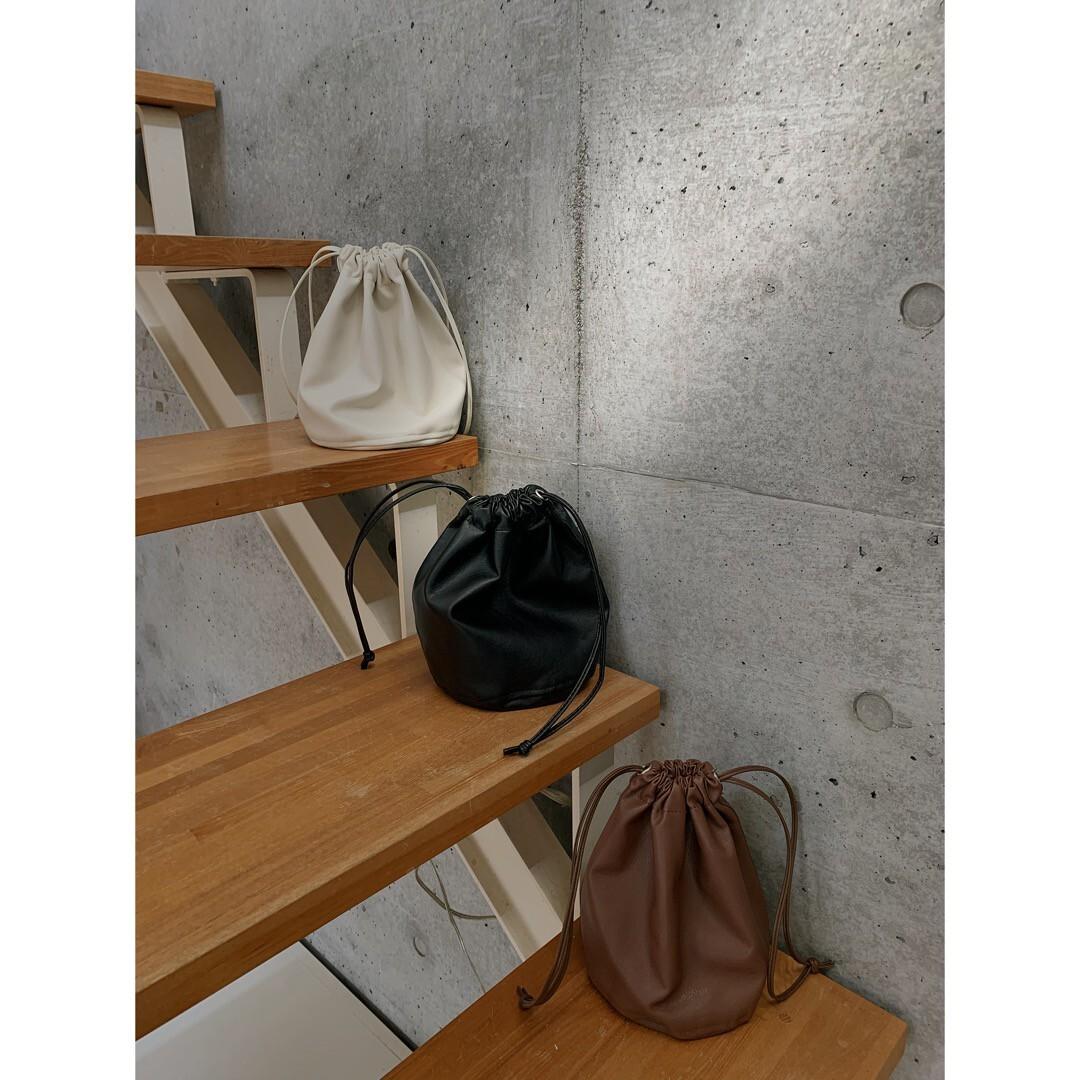 【asyu】kinchaku bag