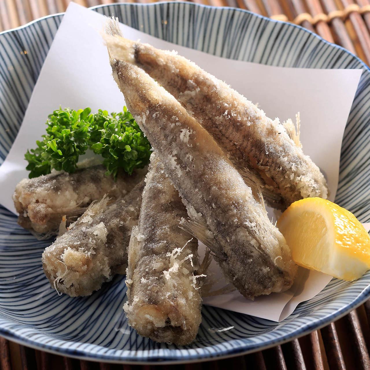 【小名浜名物】(0242)メヒカリ唐揚げ ふっくら春の味わい