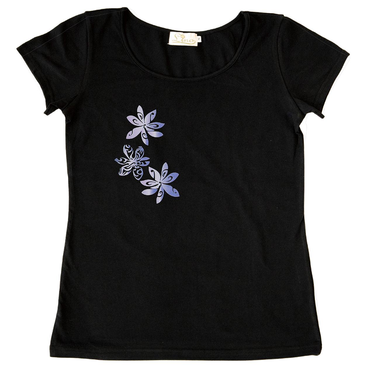 トライバル ティアレ  黒 Tシャツ