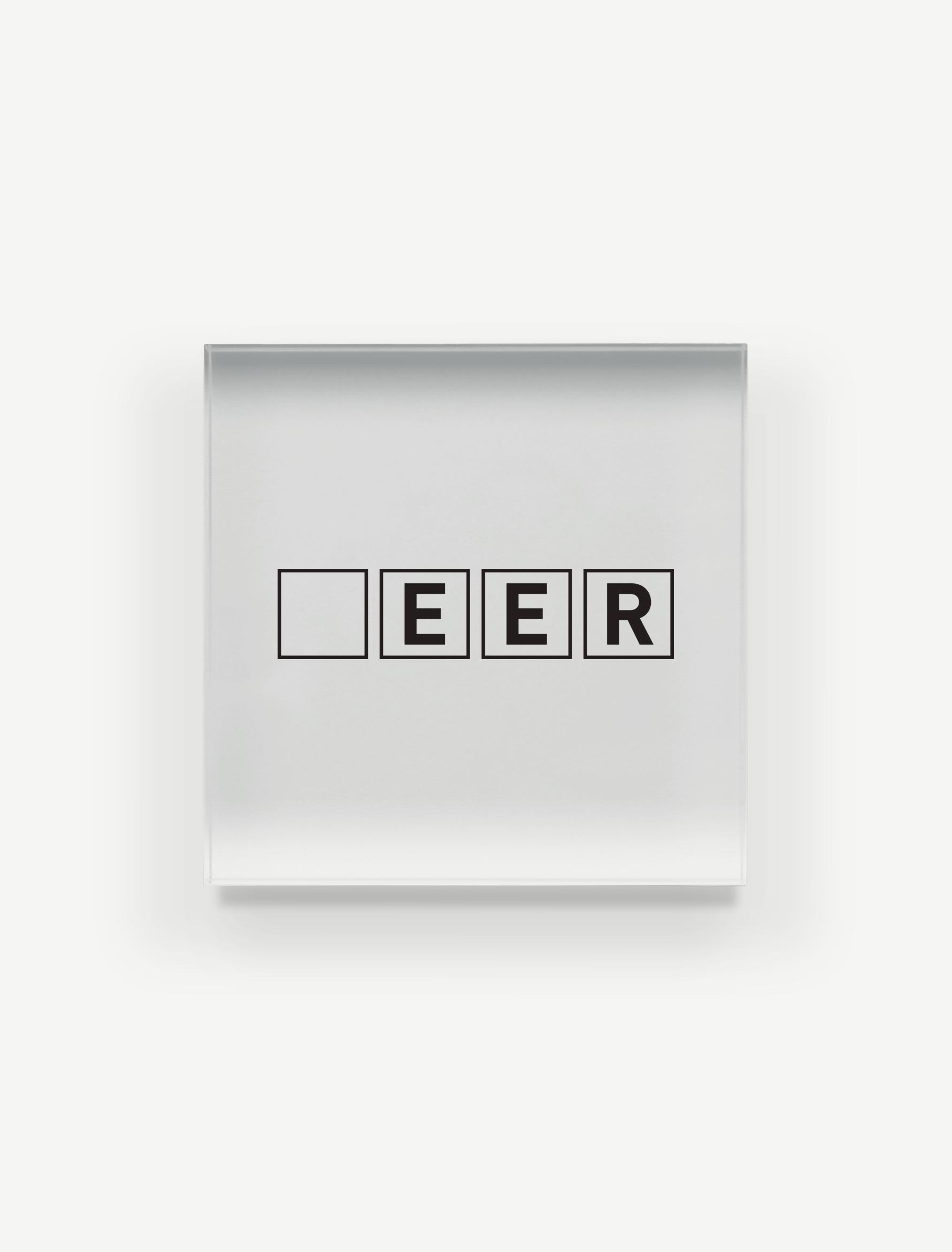 【□EER】アクリルブロック