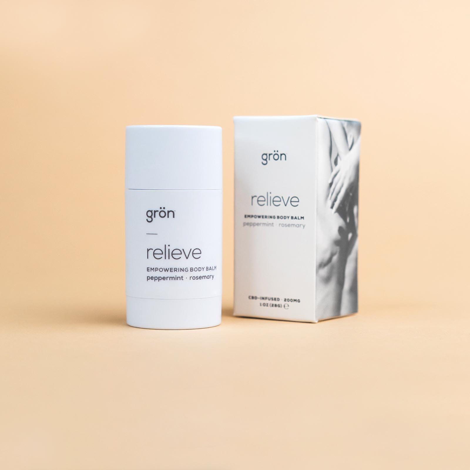 グロン ボディ バーム /relieve: empowering body balm