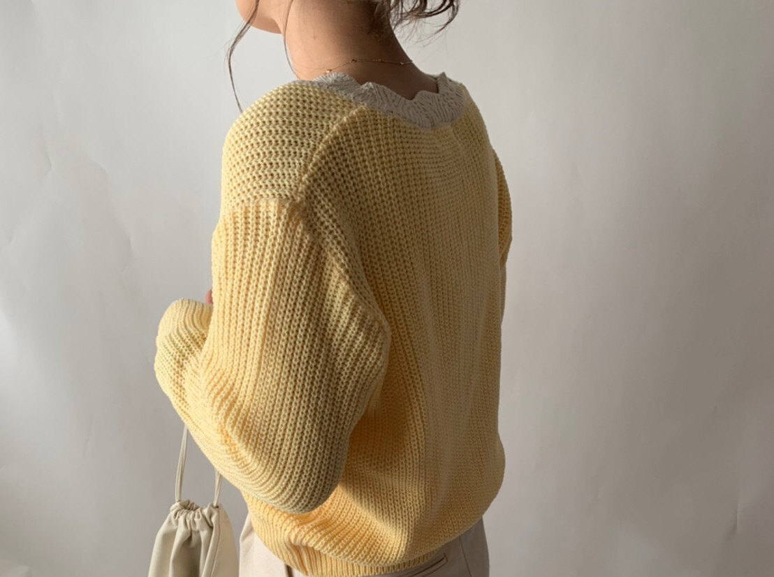 【asyu】lemon cardigan