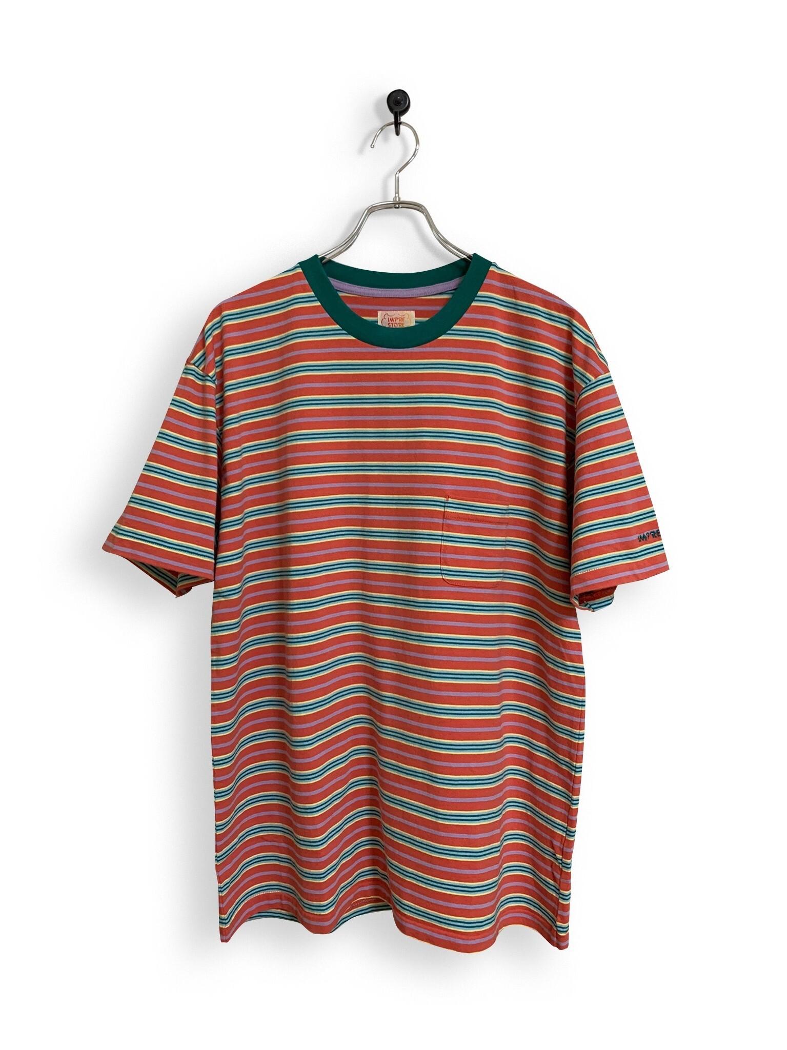 Original Multiborder Tshirt / red