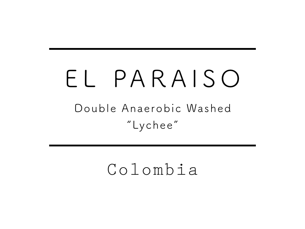 "【SPECIAL】コロンビア / EL PARAISO ""Lychee"" 100g"