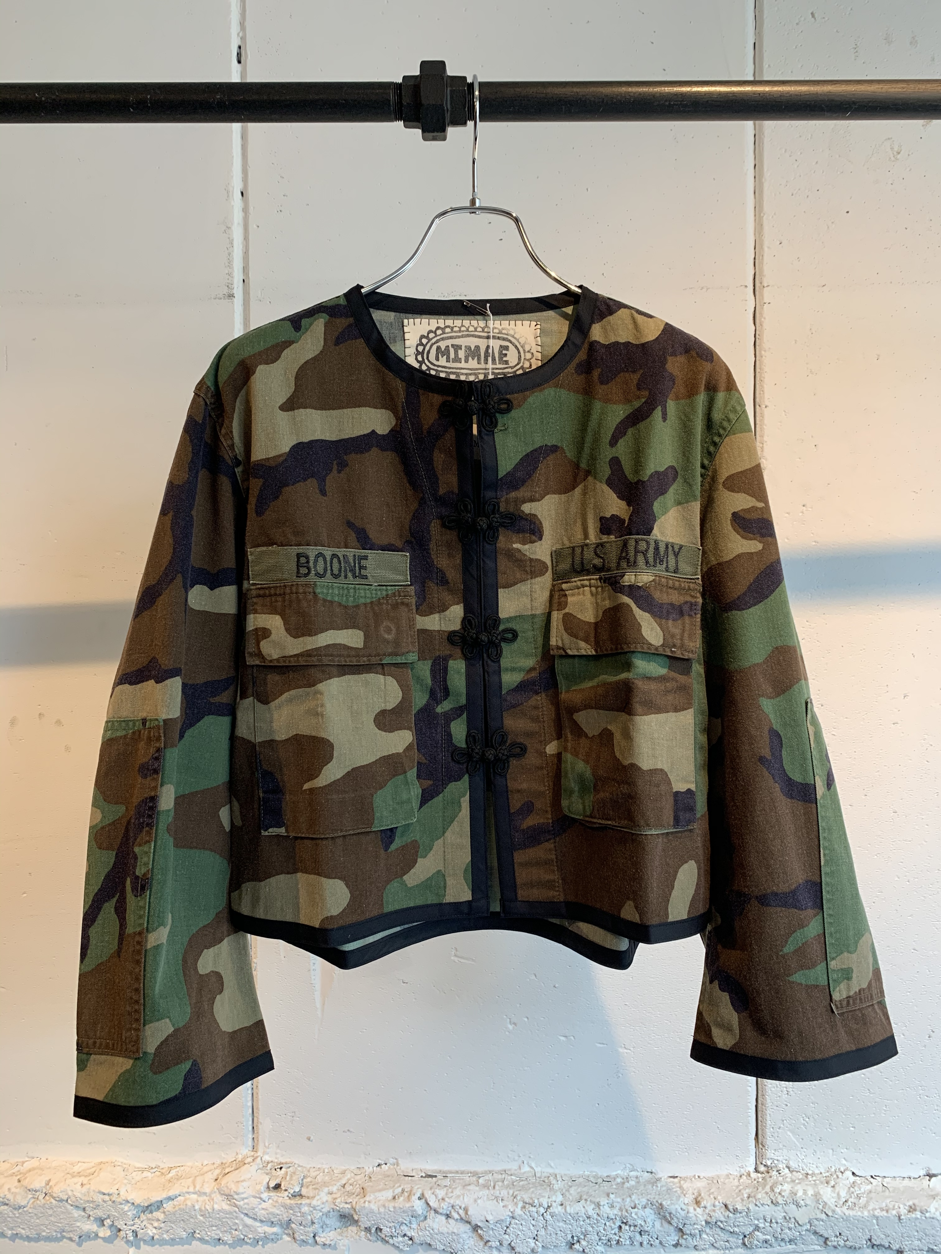 MIMAE   military china jacket ②