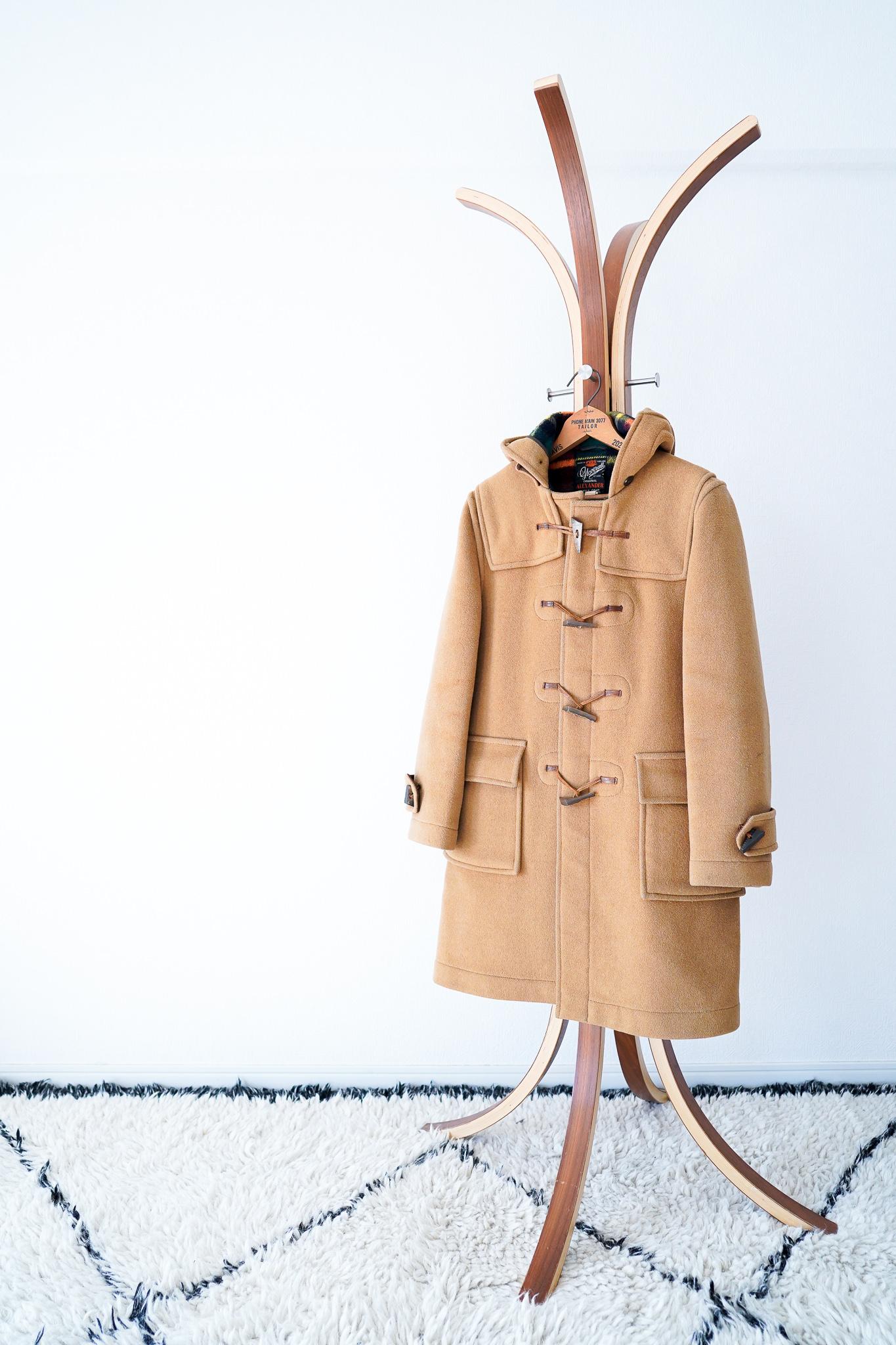 "【1970s】""Gloverall"" Wool Duffle Coat / v441"