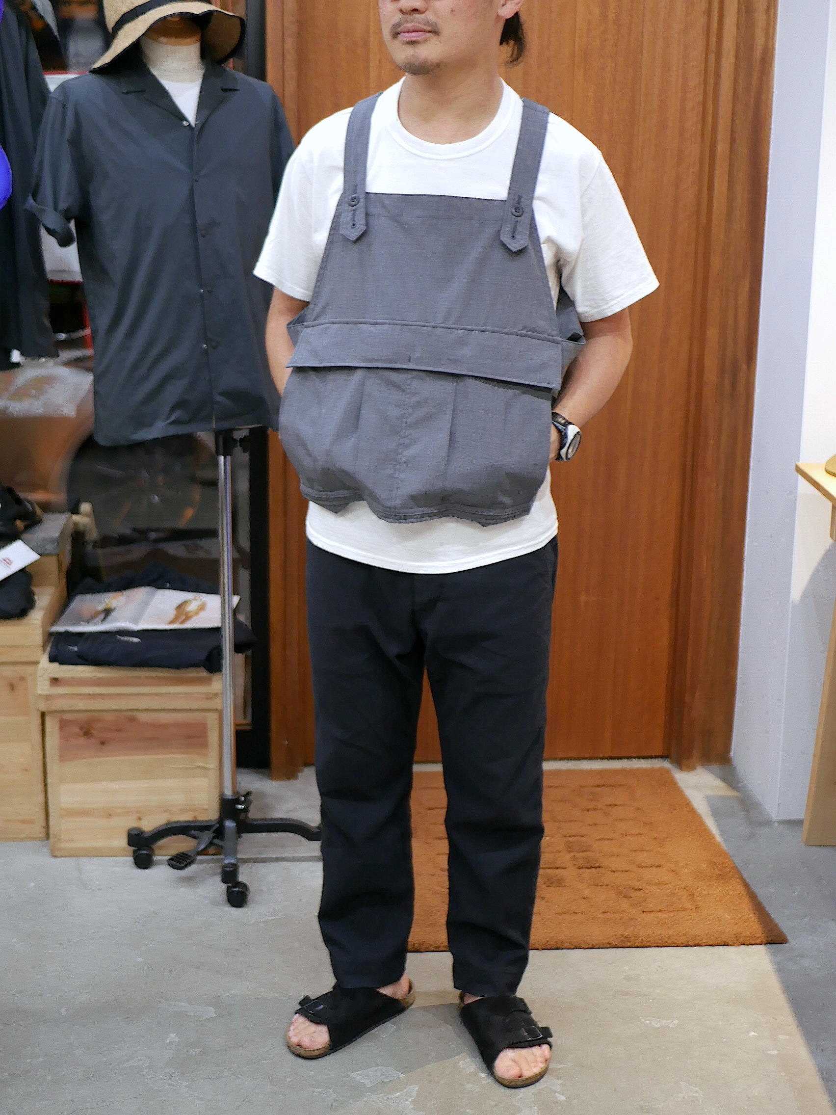 BROWN by 2-tacs / SEED IT VEST