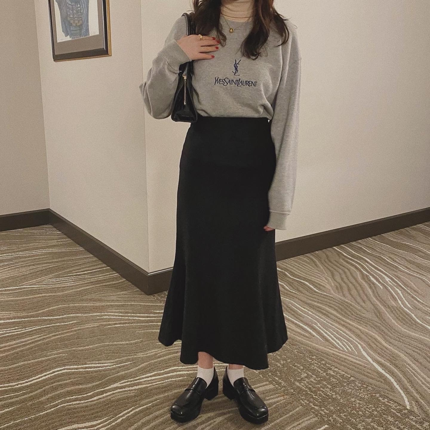 【4/18締】DAYNYC mermaid skirt (black)