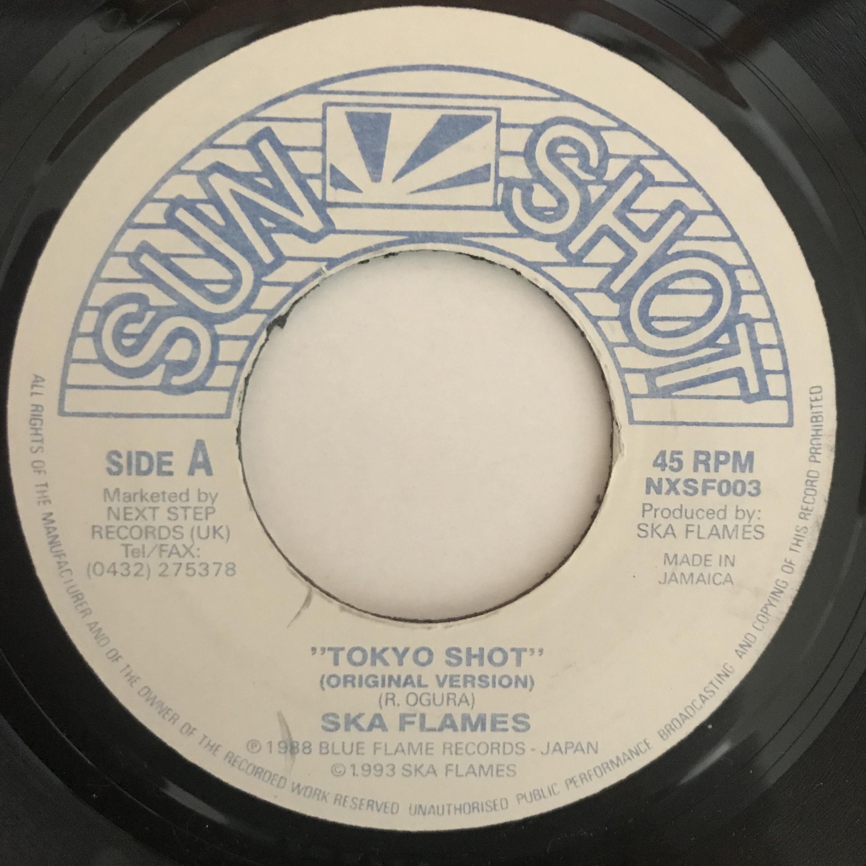 The Ska Flames - Tokyo Shot 【7-10883】