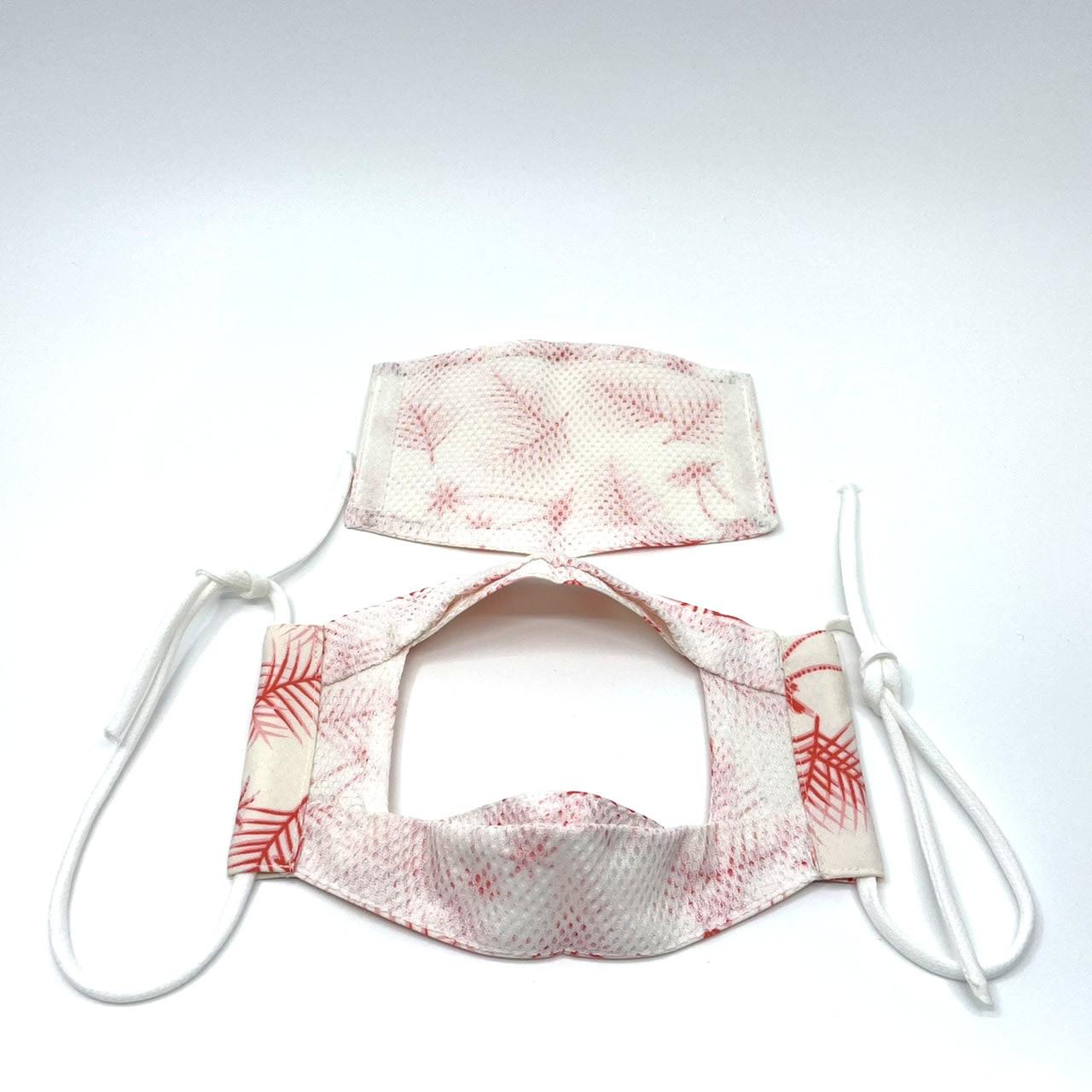 日本初!食事の時に使用するマスク!『イートマスク』②持ち運びも便利(マスクカバー付)【全国送料無料】