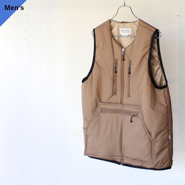 ENDS and MEANS エンズアンドミーンズ Tactical Puff Vest ベージュ EM-ST-J02