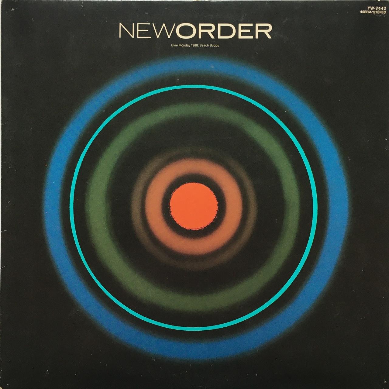 【12inch・国内盤】ニュー・オーダー / ブルー・マンデー 1988