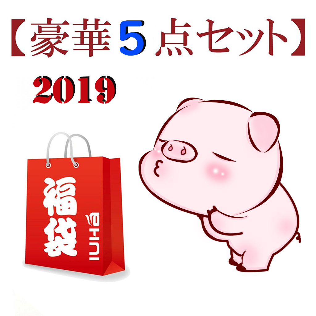 2019年 新春 IUHA 福袋 【豪華5点セット】 1月2日一斉発送  iuha2019010206