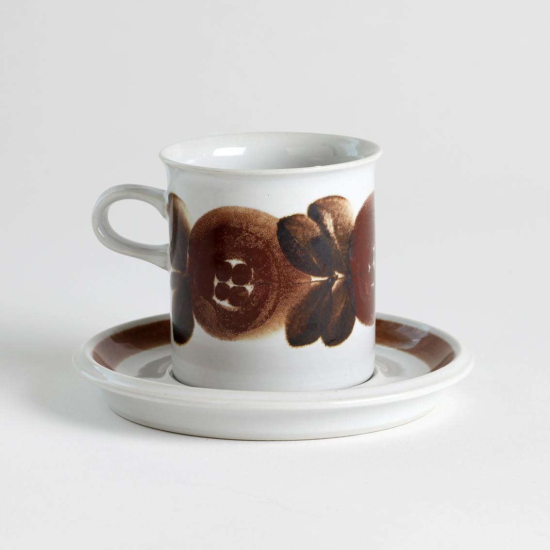 ARABIA アラビア Rosmarin ロスマリン コーヒーカップ&ソーサー - 8 北欧ヴィンテージ
