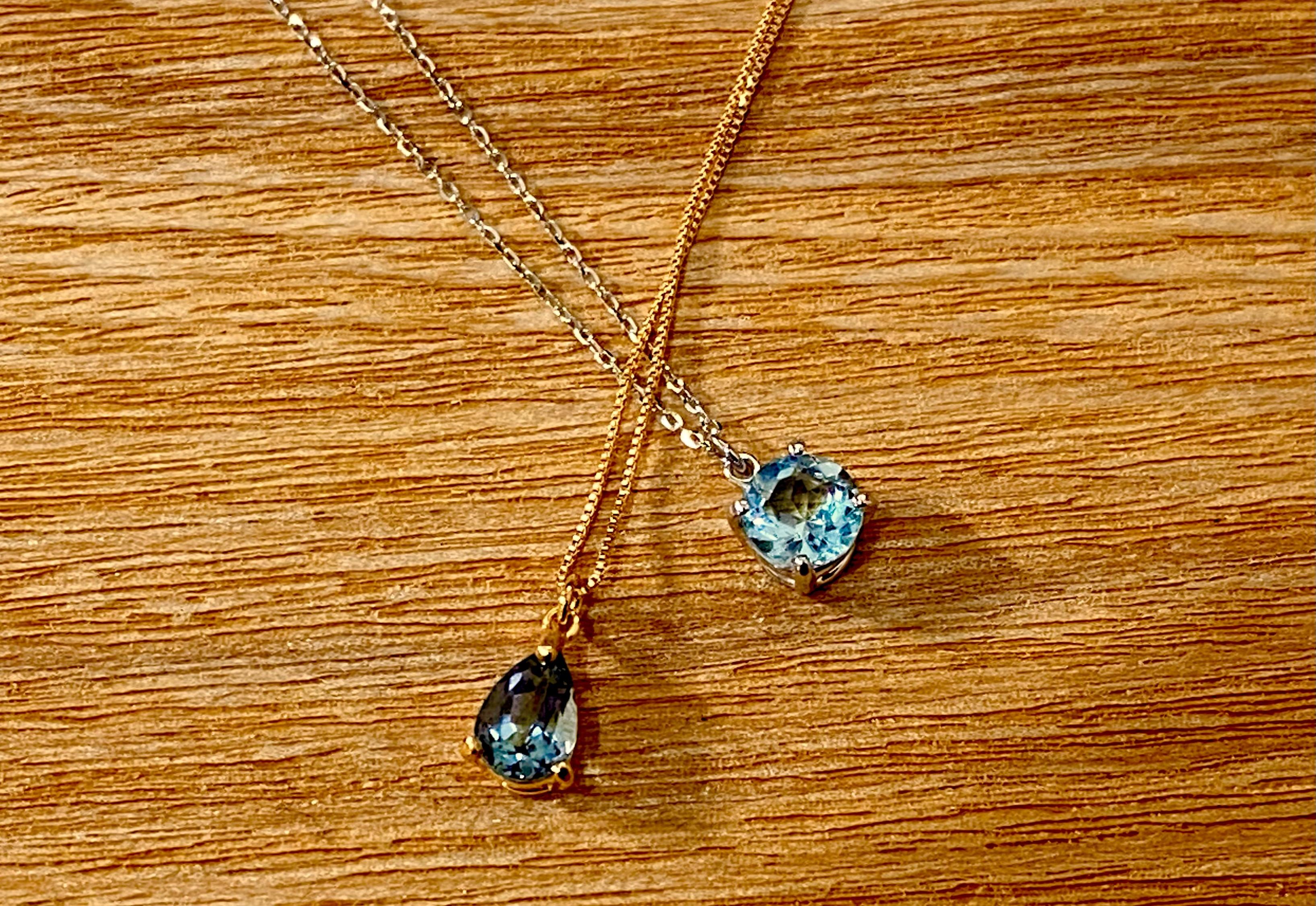 【18金】お持ちの宝石をペンダントにオーダー作成 [デザインNo,2]