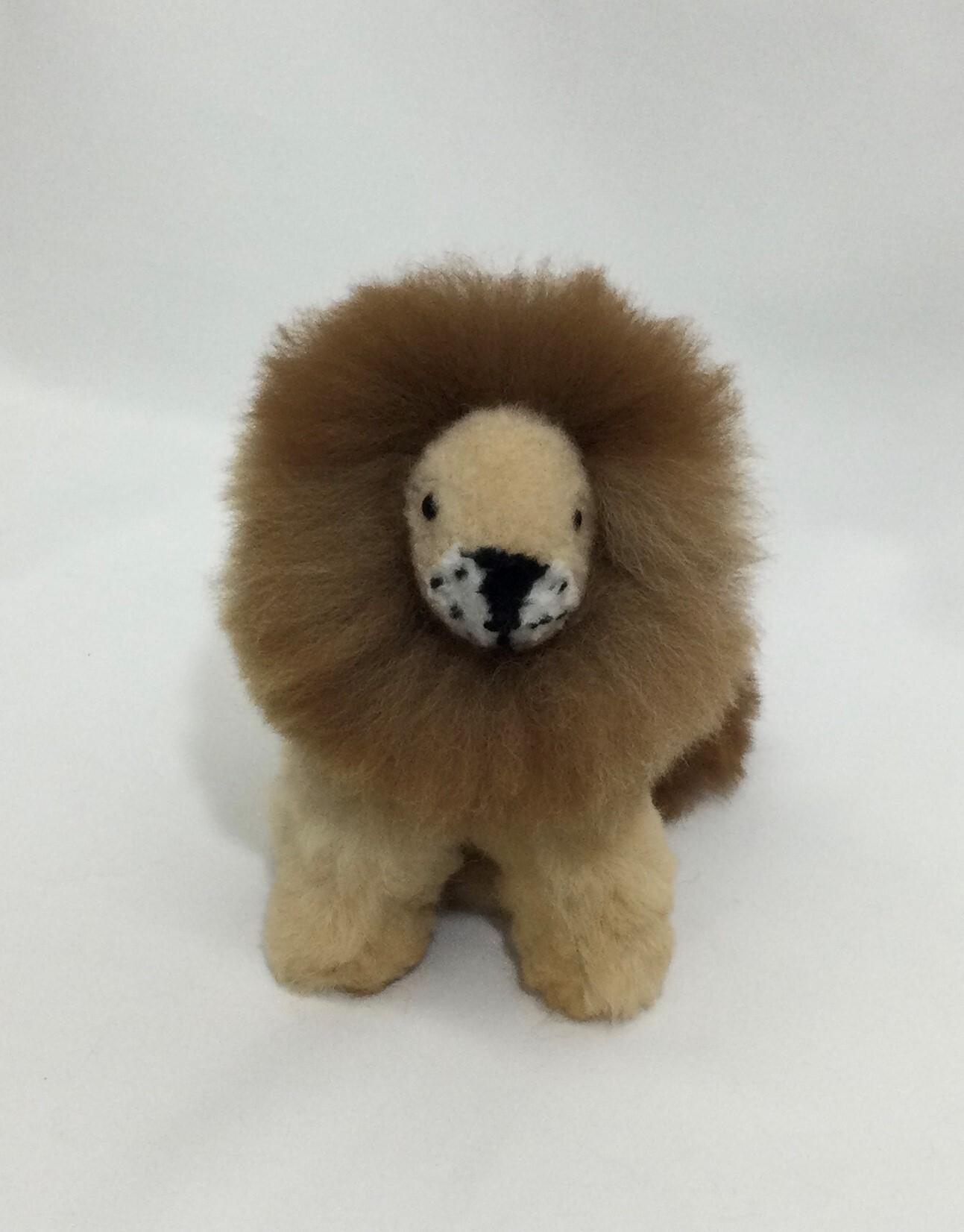 アルパカ純毛 ライオン小3