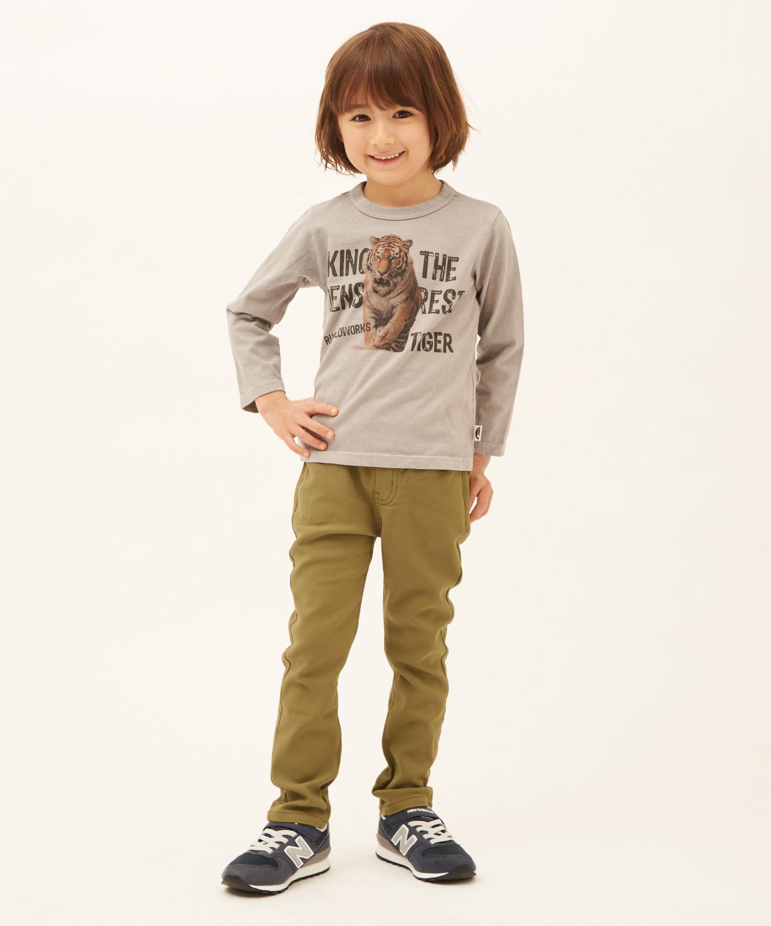 フォトプリントロングTシャツ(日本製)