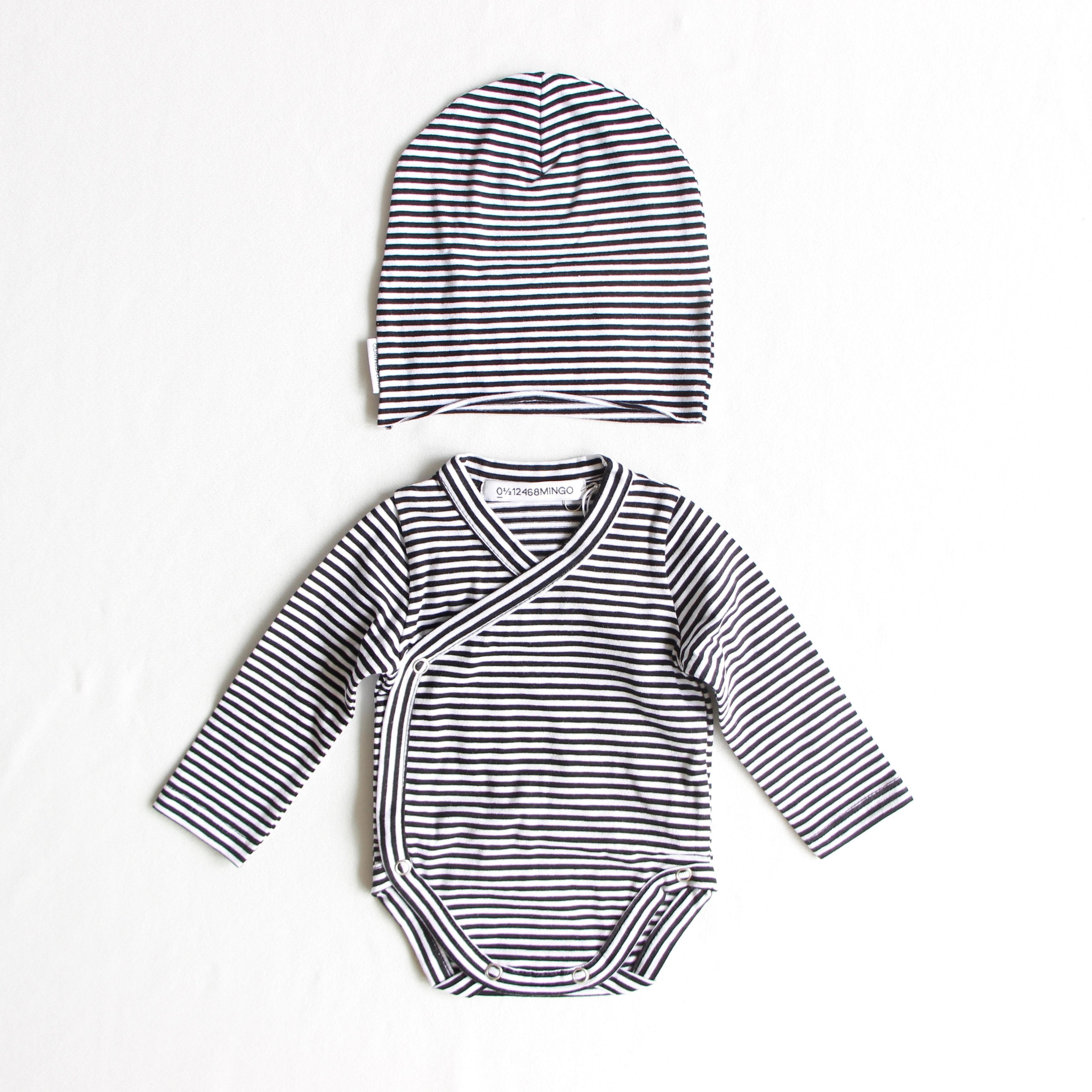 《MINGO.2020AW》Newborn set / Stripes / 0-2M
