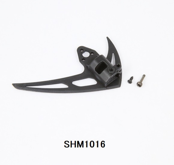 ◆M1垂直尾翼&テールモーターマウントセット OSHM1016  (ネオヘリでM1購入者のみ購入可)