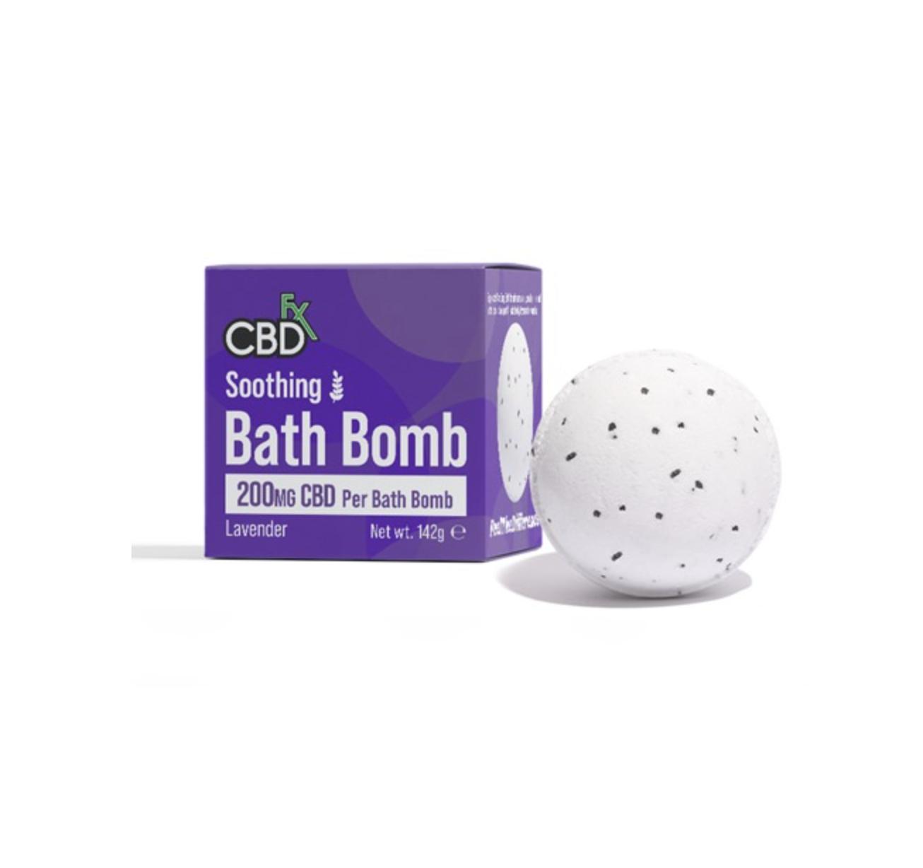 CBDバスボム<CBD FX>(ラベンダー/カーミング)