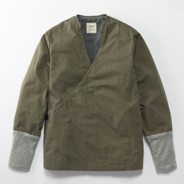 JK-16 立衿作務衣 半々