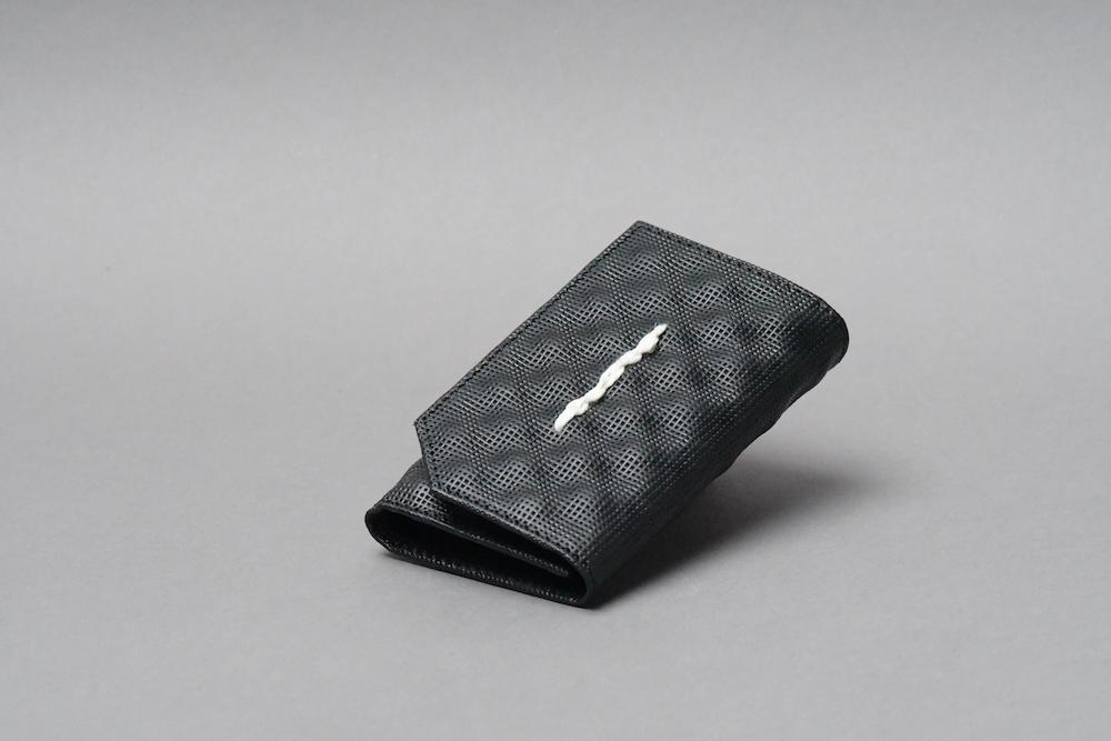 chain stitch KEYCASE  Q ブラック - 画像1