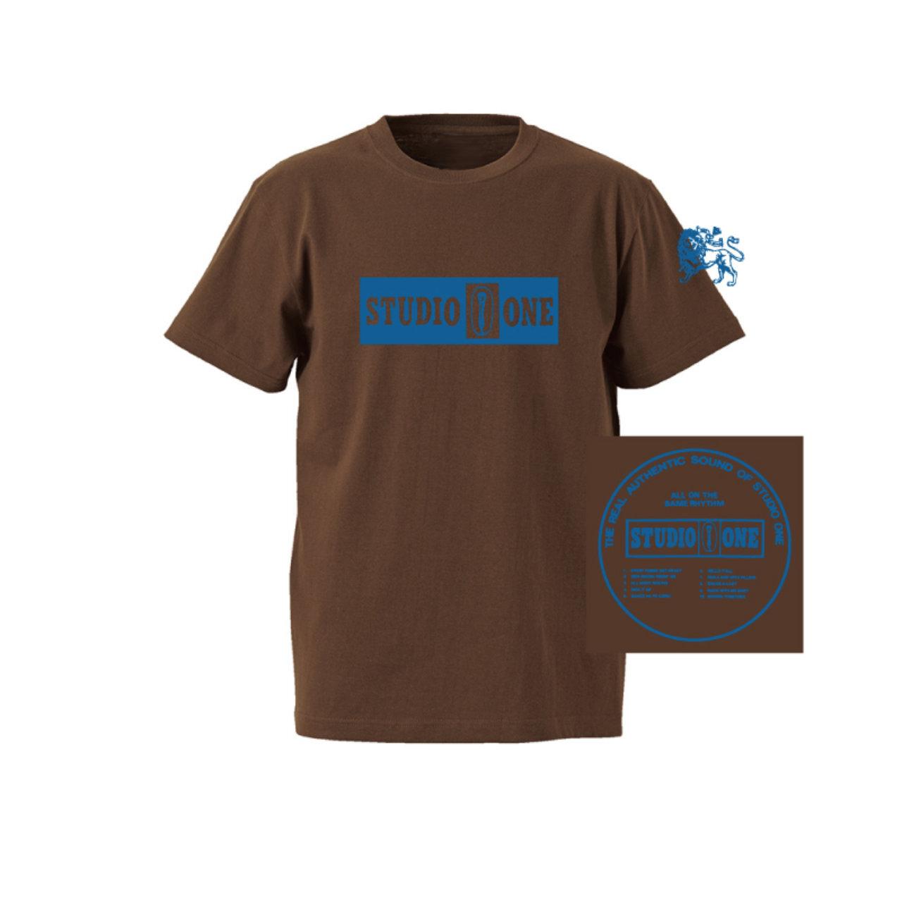 【Or Glory】 STUDIO ONE ジャマイカ SKA Tシャツ 〈Brown〉