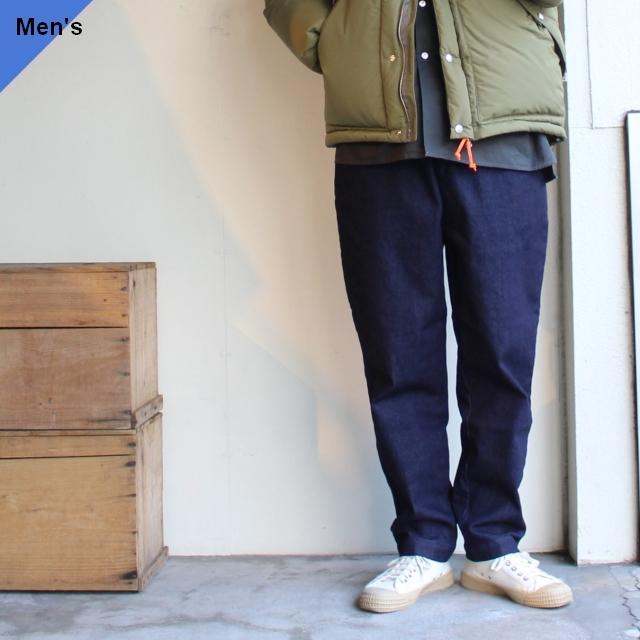 weac. デニムイージーパンツ RELAX PANTS サーモライトデニム