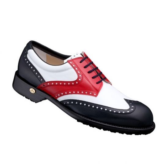 【Men's】 GETSBY blue-white-red