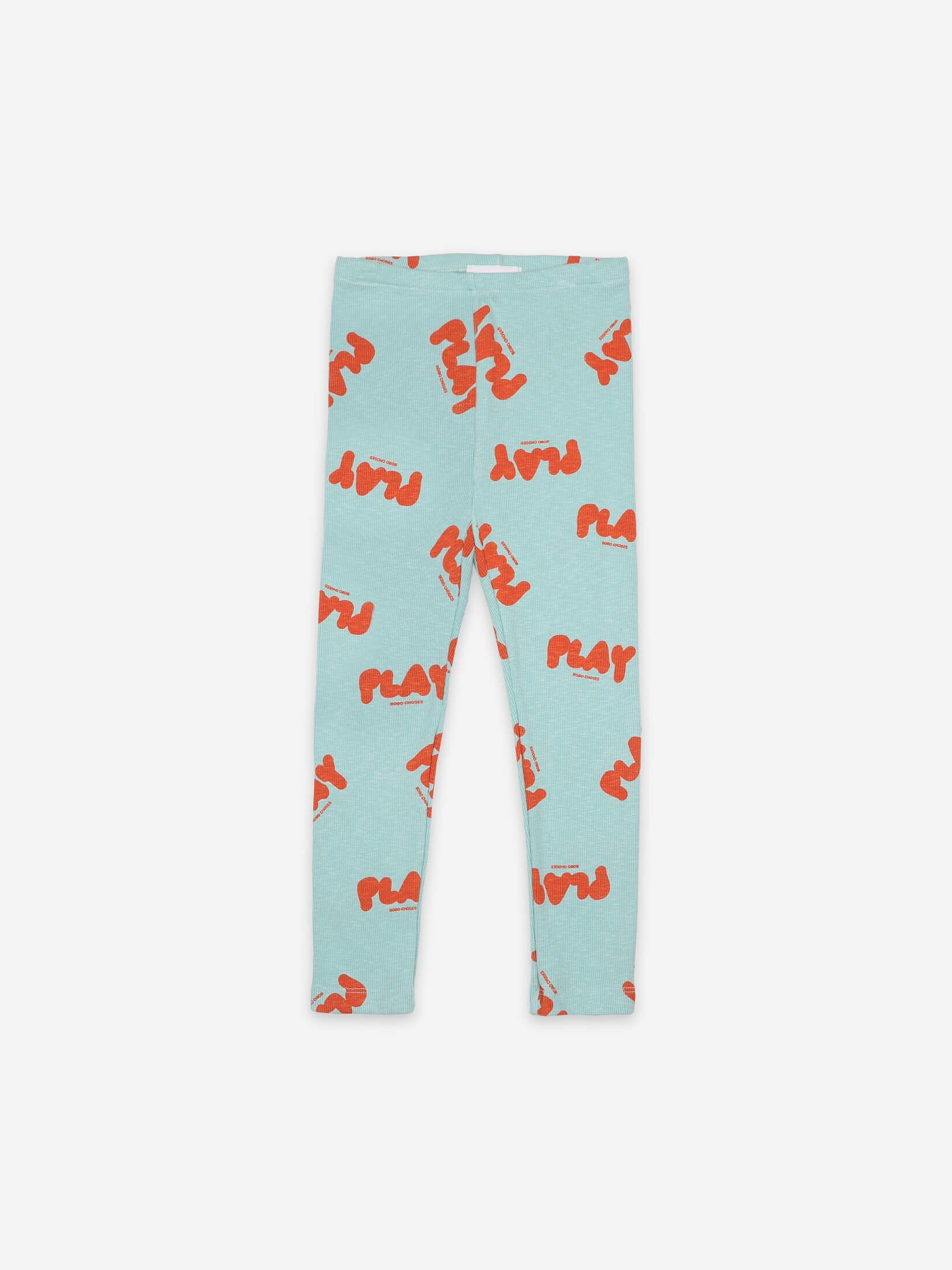 BOBO CHOSES ボボショセス Play All Over Leggings size:2-3Y(95-100)~8-9Y(125-135)