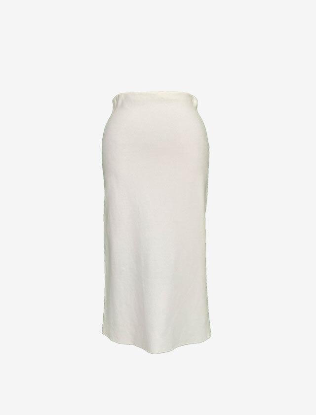 CHLOE クロエ ホワイト ストレッチ スカート
