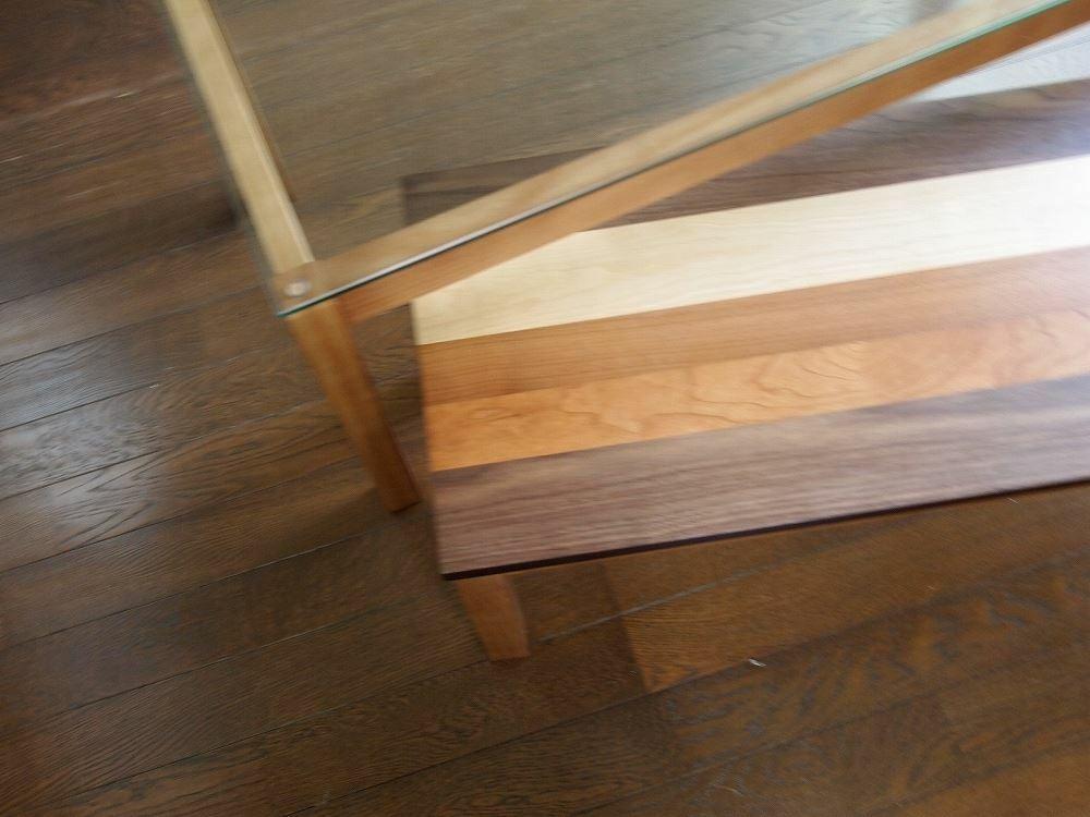 Nordic Nest Glass Table / 北欧ナチュラルスタイル 北欧 ネストガラステーブル