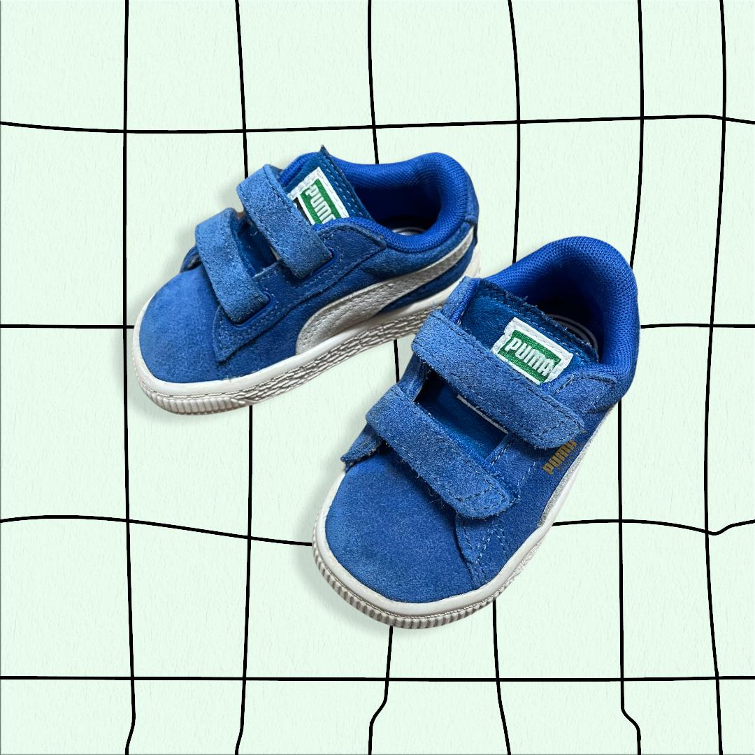 BABY PUMA  velcro sneaker