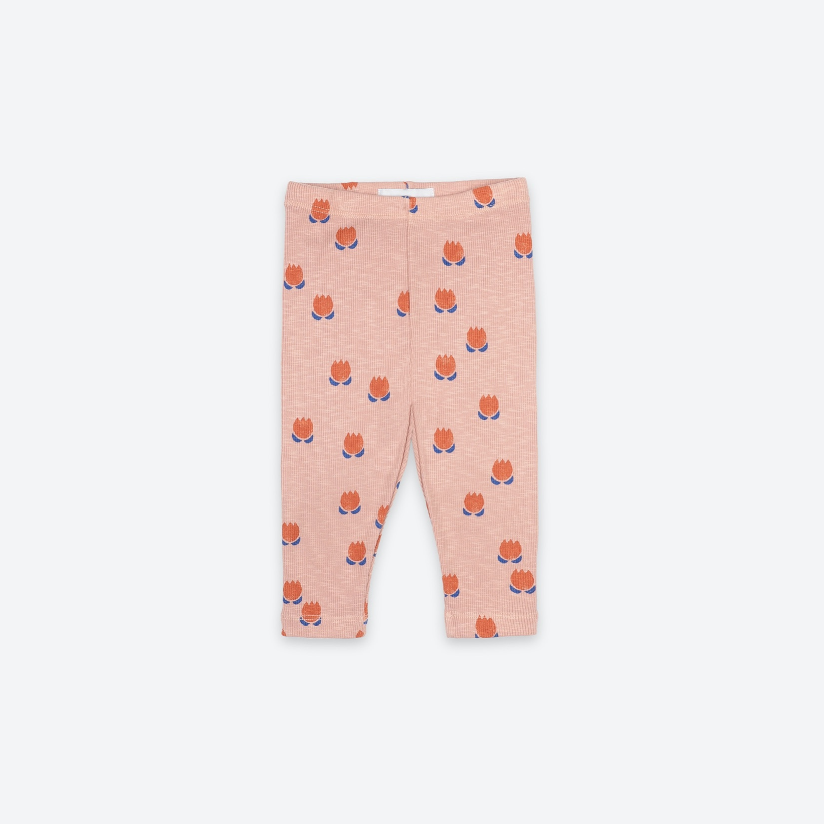 《BOBO CHOSES 2021SS》Chocolate Flowers All Over Leggings / 6-36M