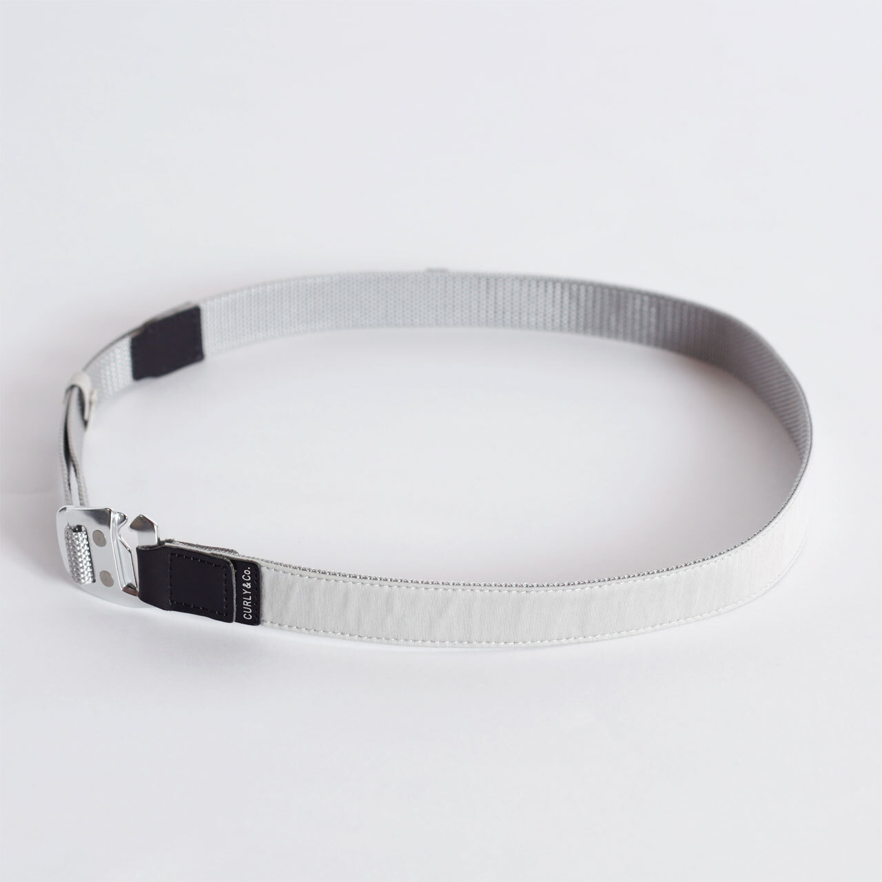 "CURLY&Co./BRIGHT TAPE BELT ""Plain"""