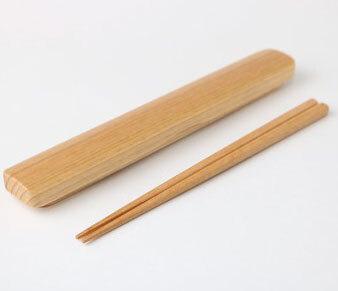 木製箸&箸箱セット