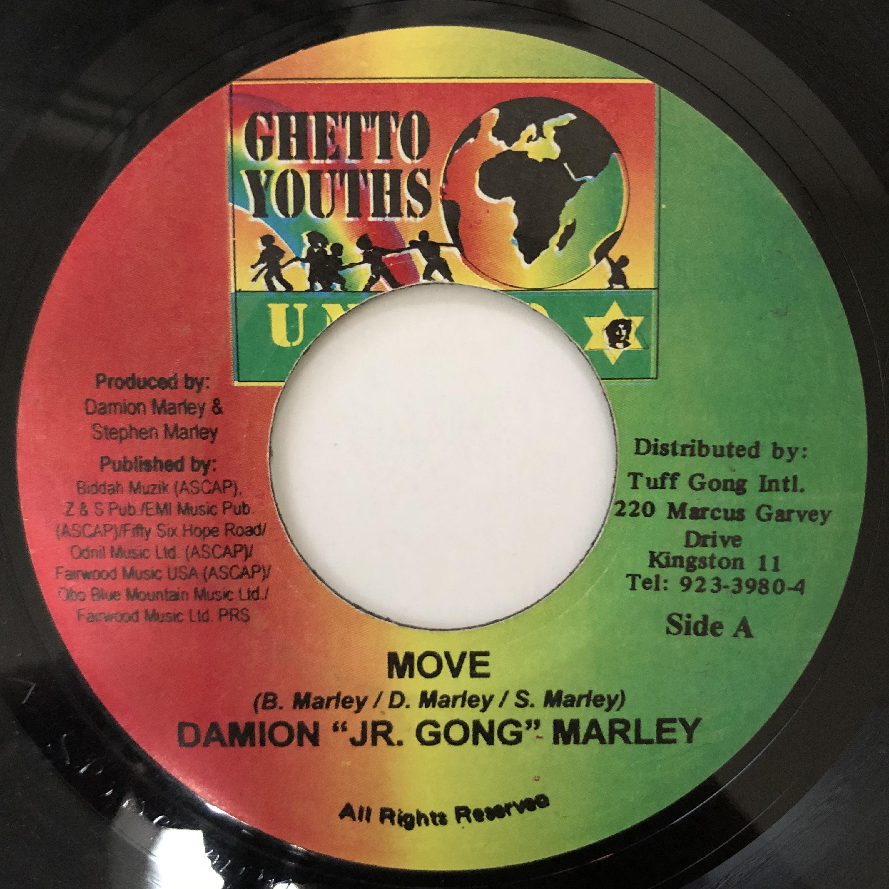 Damian Marley - Move【7-20573】