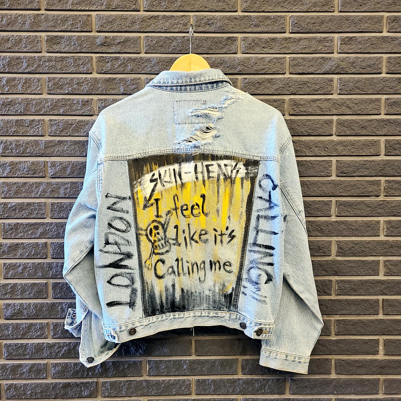 Art On Clothing / Denim Jacket【WER-004】
