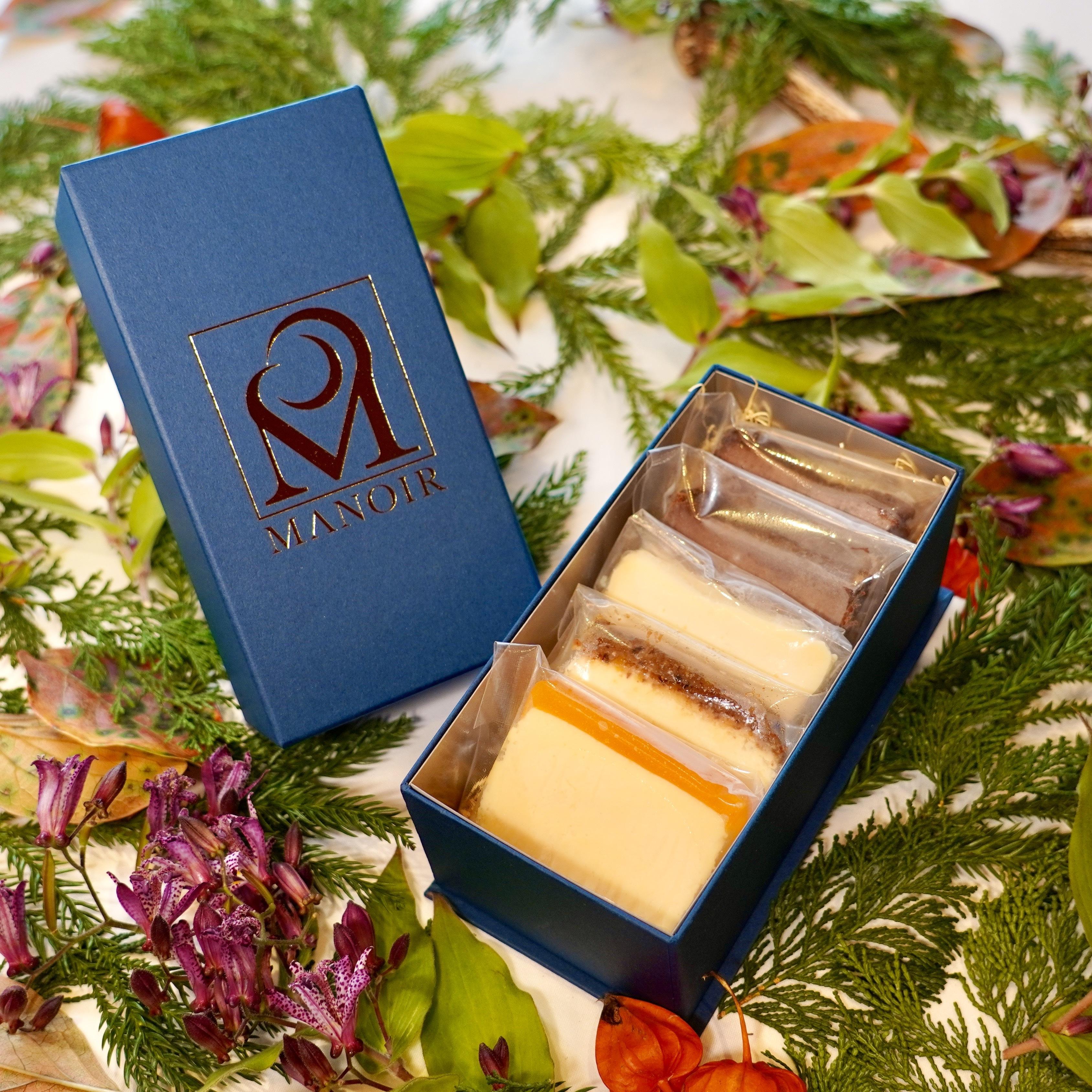 チーズケーキ5種類アソートセット(計5枚)