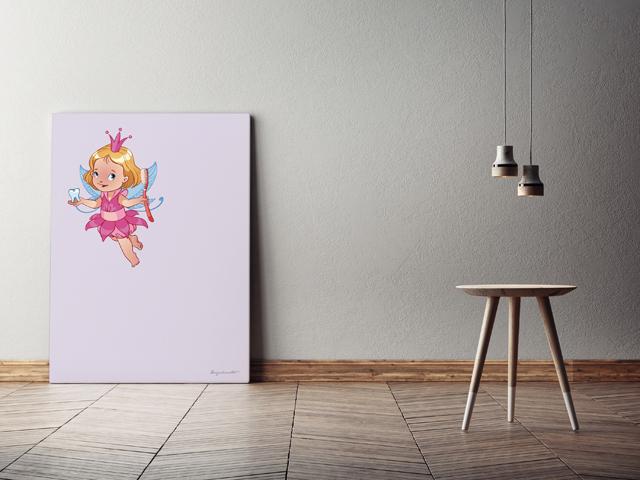 Fairy キャンバスプリント(B2サイズ・木製パネル貼り)