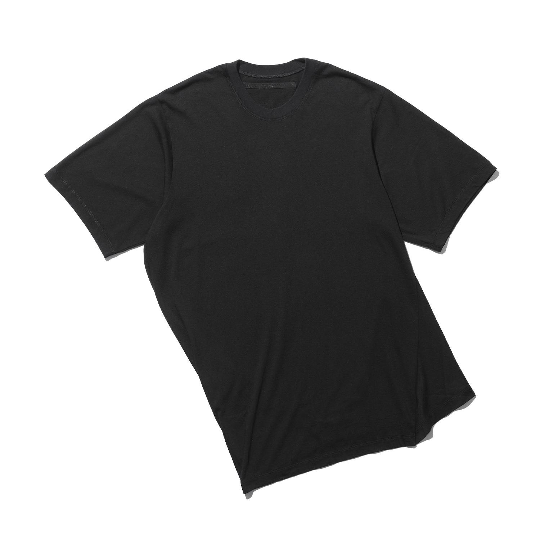 747CUM7-BLACK / ツイステッドTシャツ