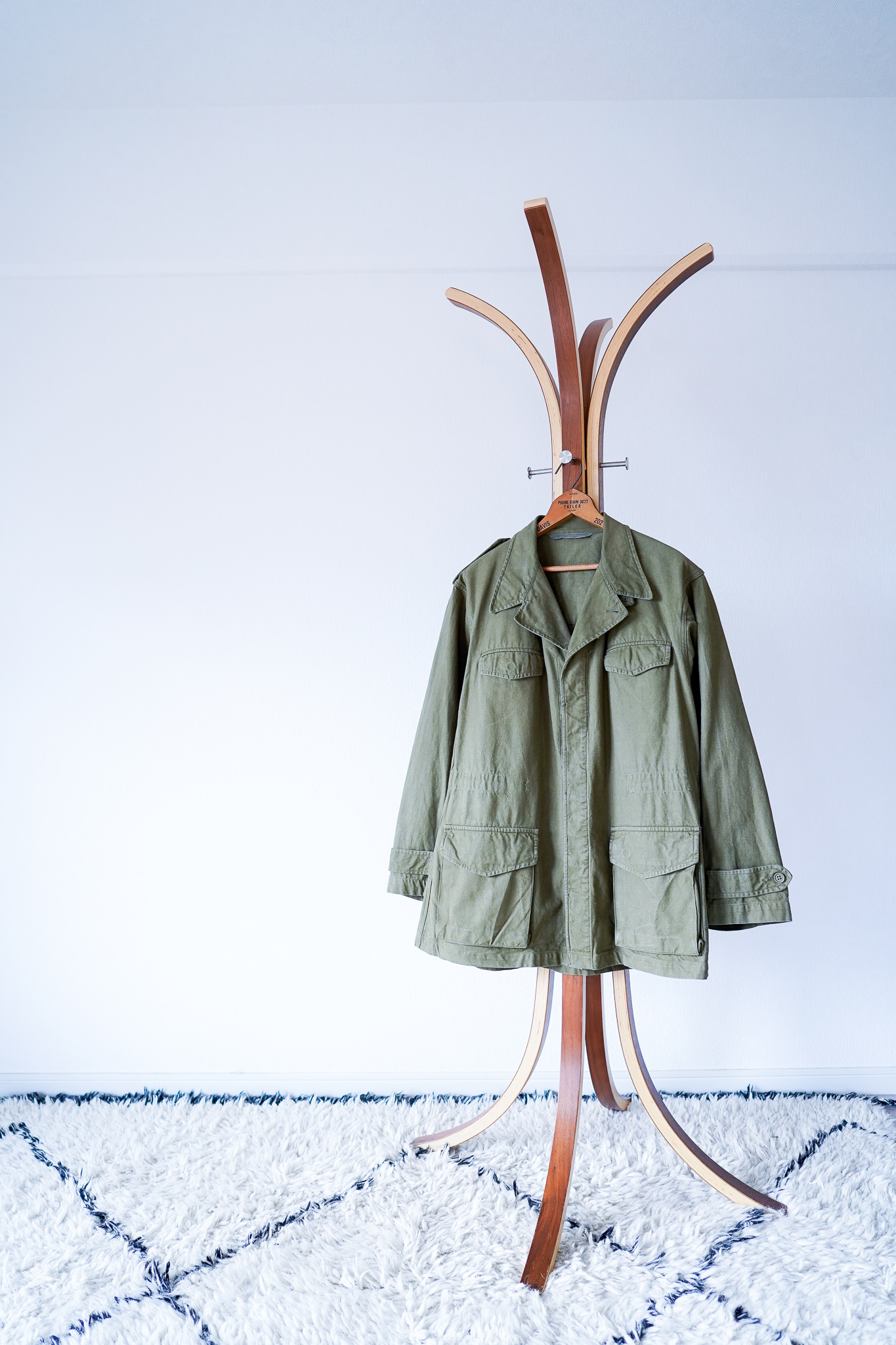 """【1950s】""""M-47, Size 46"""" Cotton-Twill French Army JKT/ v628y"""
